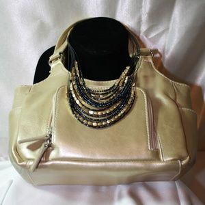 St. Johns Bay NWT Gold Purse - Necklace